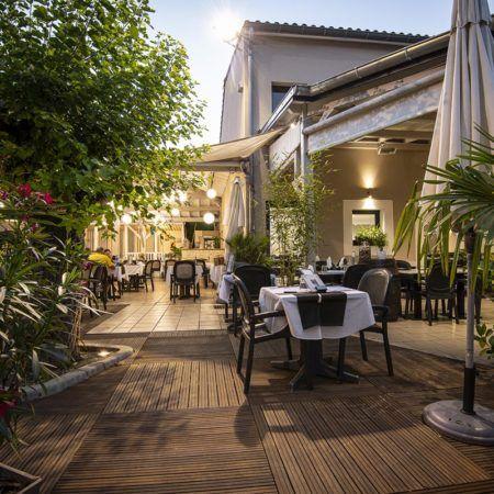 Restaurant Le Grillou - En terrasse